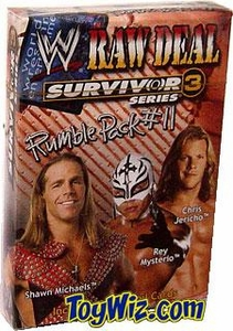 WWE Raw Deal Card Game Survivor Series 3 Rumble Pack #11