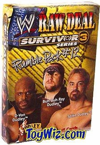 WWE Raw Deal Card Game Survivor Series 3 Rumble Pack #12