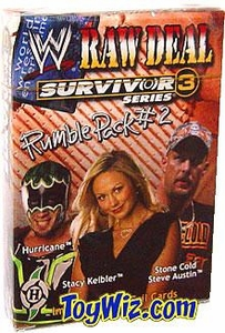 WWE Raw Deal Card Game Survivor Series 3 Rumble Pack #2
