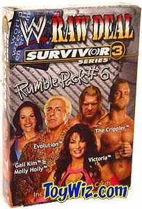 WWE Raw Deal Card Game Survivor Series 3 Rumble Pack #6