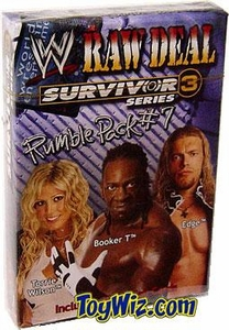 WWE Raw Deal Card Game Survivor Series 3 Rumble Pack #7