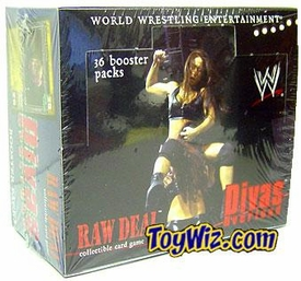 WWE Raw Deal Card Game Divas Overload Booster BOX