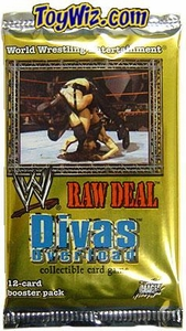 WWE Raw Deal Card Game Divas Overload Booster Pack