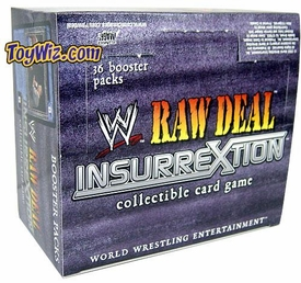 WWE Raw Deal Card Game InsurreXtion Booster BOX