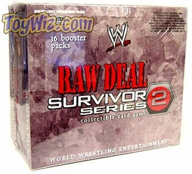 WWE Raw Deal Card Game Survivor Series 2 Booster Box