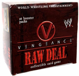 WWE Raw Deal Card Game Vengeance Booster Box