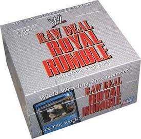 WWE Raw Deal Card Game Royal Rumble Booster BOX