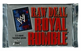 WWE Raw Deal Card Game Royal Rumble Booster Pack