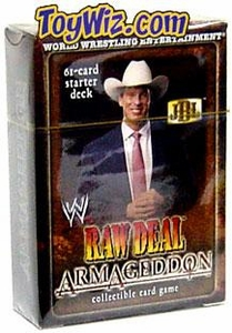 WWE Raw Deal Card Game Armageddon Starter Deck JBL