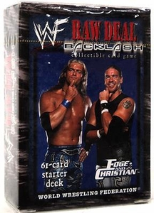 WWE Raw Deal Backlash Starter Deck Edge & Christian