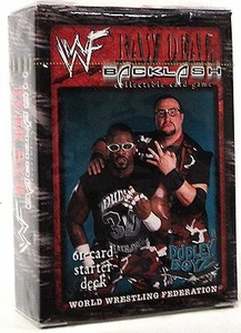 WWE Raw Deal Backlash Starter Deck The Dudley Boyz