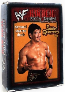 WWE Raw Deal Fully Loaded Starter Deck Eddie Guerrero