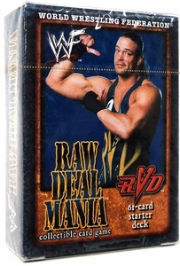 WWE Raw Deal Mania Starter Deck RVD (Rob Van Dam)