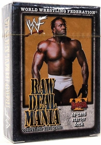 WWE Raw Deal Mania Starter Deck Booker T
