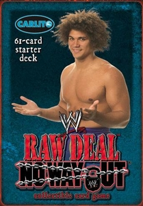 WWE Raw Deal No Way Out Starter Deck Carlito