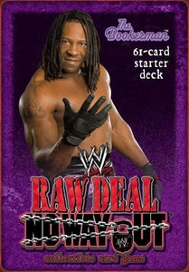 WWE Raw Deal No Way Out Starter Deck The BookerMan Booker T