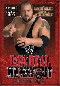 WWE Raw Deal No Way Out Starter Deck The Largest Athlete in Sports Entertainment Big Show