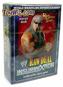 WWE Raw Deal InsurreXtion Starter Deck Big Poppa Pump Scott Steiner
