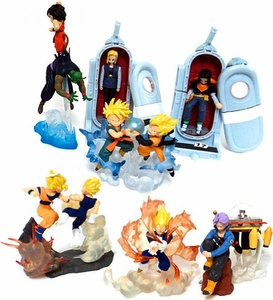 Dragonball Z Set of 7 Action 3.5 Inch Mini PVC Figures