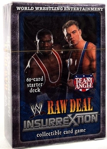 WWE Raw Deal InsurreXtion Starter Deck Team Angle Shelton Benjamin & Charlie Haas