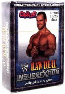 WWE Raw Deal InsurreXtion Starter Deck The Crippler Chris Benoit