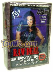 WWE Raw Deal Survivor Series 2 Starter Deck Lita