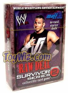 WWE Raw Deal Survivor Series 2 Starter Deck Matt Hardy