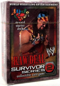 WWE Raw Deal Survivor Series 2 Starter Deck Dude Love