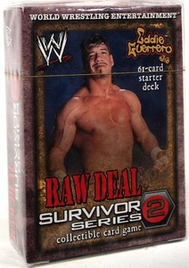 WWE Raw Deal Survivor Series 2 Starter Deck Eddie Guerrero
