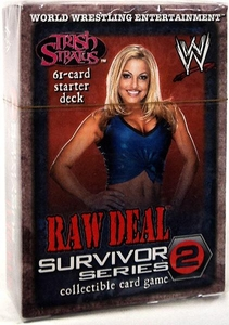 WWE Raw Deal Survivor Series 2 Starter Deck Trish Stratus