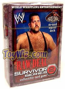 WWE Raw Deal Survivor Series 2 Starter Deck The Big Show