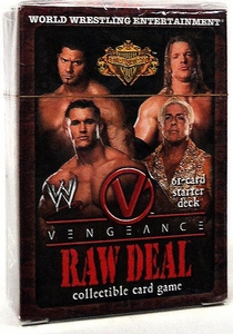 WWE Raw Deal Vengeance Starter Deck Evolution