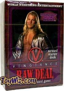 WWE Raw Deal Vengeance Starter Deck Highlight of the Night Chris Jericho