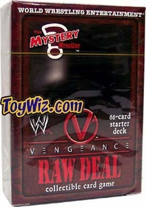 WWE Raw Deal Vengeance Starter Deck The Mystery Wrestler