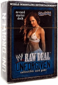 WWE Raw Deal Unforgiven Starter Deck Christy