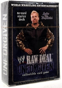 WWE Raw Deal Unforgiven Starter Deck Leader of the Peepulation