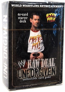 WWE Raw Deal Unforgiven Starter Deck Roddy Piper