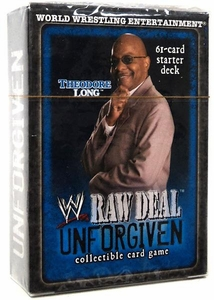 WWE Raw Deal Unforgiven Starter Deck Theodore Long