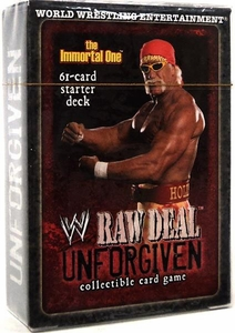 WWE Raw Deal Unforgiven Starter Deck The Immortal One