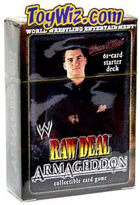 WWE Raw Deal Card Game Armageddon Starter Deck Shane O'Mac