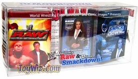 WWE Raw Deal Deluxe Metal Deck Storage Tin Set Absolutely Raw & Ultimate Smackdown!