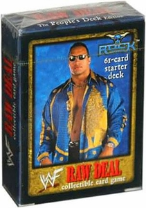 WWE Raw Deal Starter Deck The Rock [The People's Deck Edition]