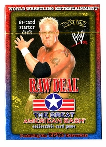 WWE Raw Deal Card Game The Great American Bash Starter Deck Mr. Kennedy