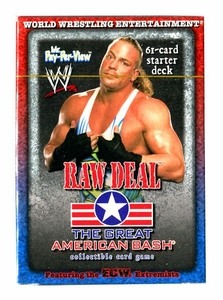 WWE Raw Deal Card Game The Great American Bash Starter Deck  RVD Mr. Pay Per View