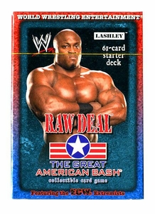 WWE Raw Deal Card Game The Great American Bash Starter Deck Lashley