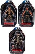 NECA Predator Movie Series 8 Set of 3 Action Figures [Jungle Hunter, Patrol Dutch & Extraction Dutch]