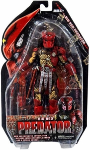 NECA Predator Movie Series 7 Action Figure Big Red
