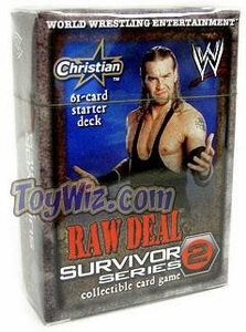 WWE Raw Deal Survivor Series 2 Starter Deck Christian