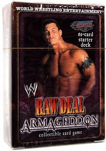 WWE Raw Deal Card Game Armageddon Starter Deck Randy Orton