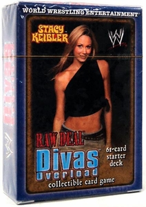 WWE Raw Deal Divas Overloaded Starter Deck Stacy Kiebler